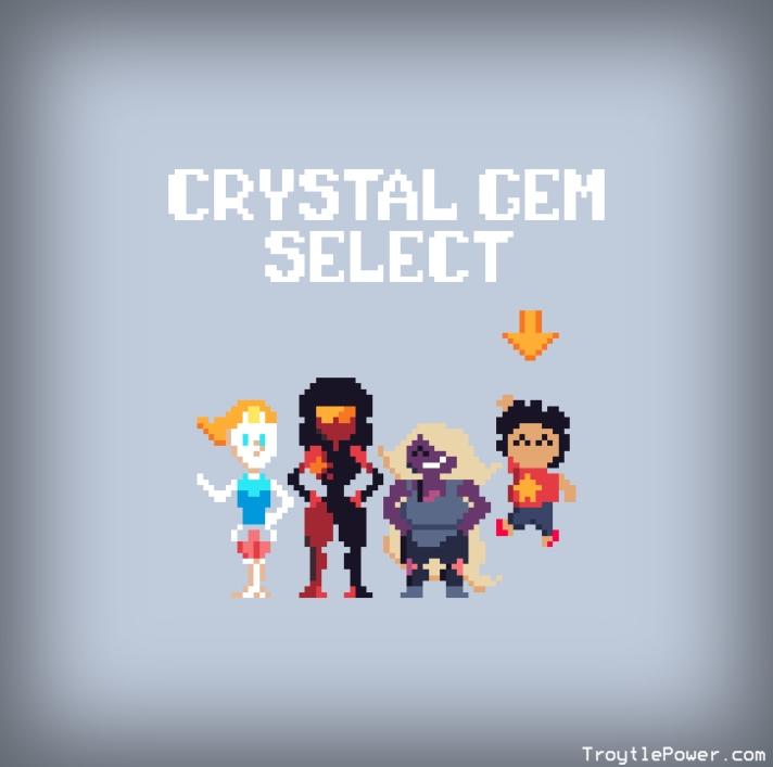 crystal gem select
